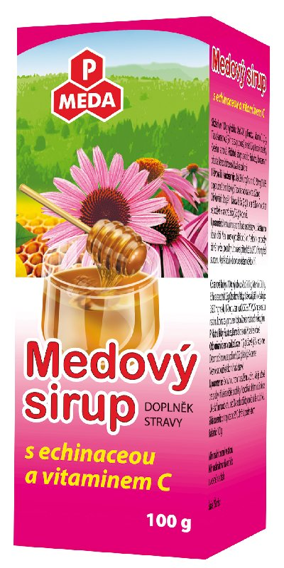 PM Medový sirup s echinaceou a vitaminem C