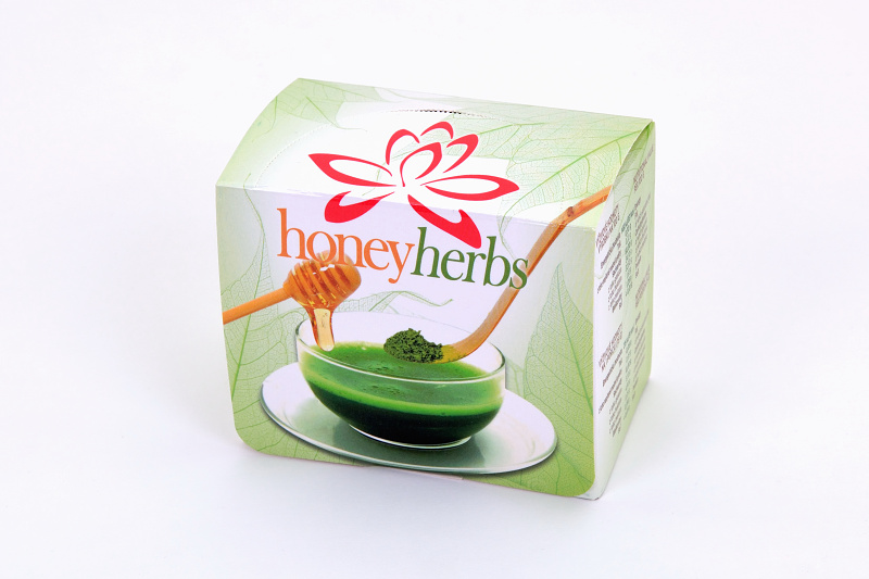 Matcha Honey Box